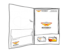 Business Identity: Butterfly express
