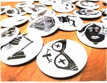 Creative badges for Fashion Days Bulgaria